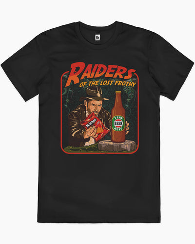Raiders of the Lost Frothy T-Shirt Australia Online