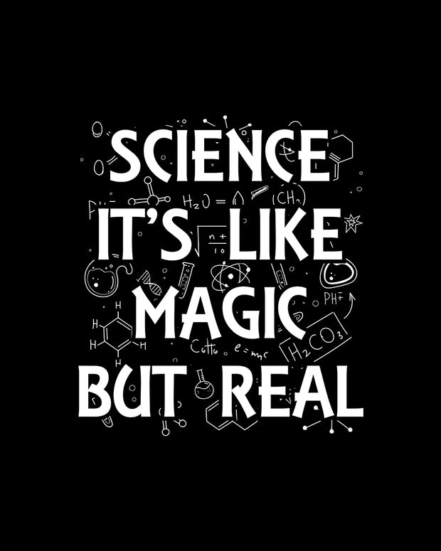 Science It's Like Magic T-Shirt Australia Online