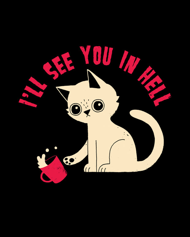 See You in Hell T-Shirt Australia Online