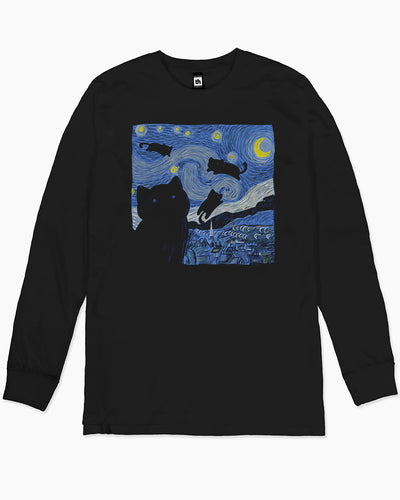 The Starry Cat Night Long Sleeve Australia Online
