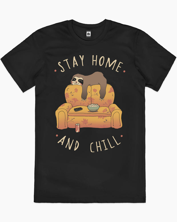 Stay at Home and Chill T-Shirt Australia Online