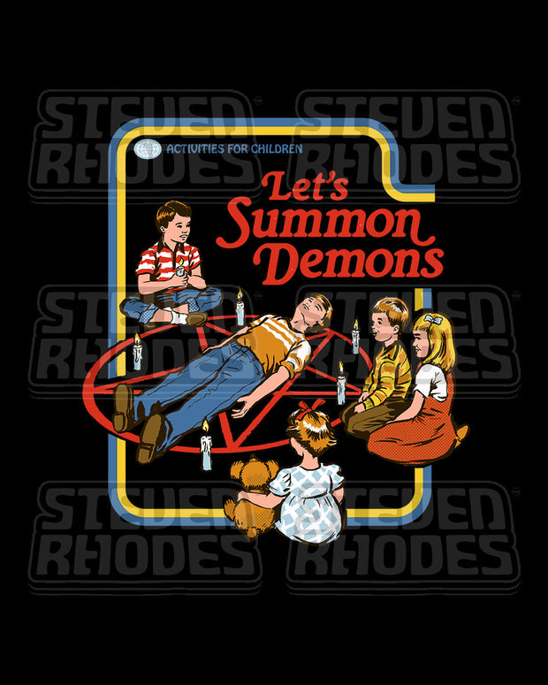 Let's Summon Demons T-Shirt Australia Online