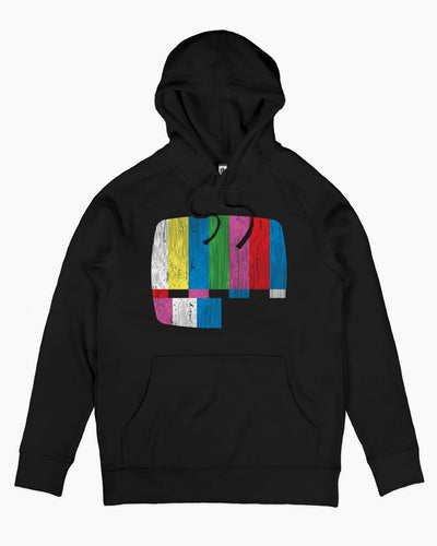 Test Pattern Alternate Hoodie Australia Online