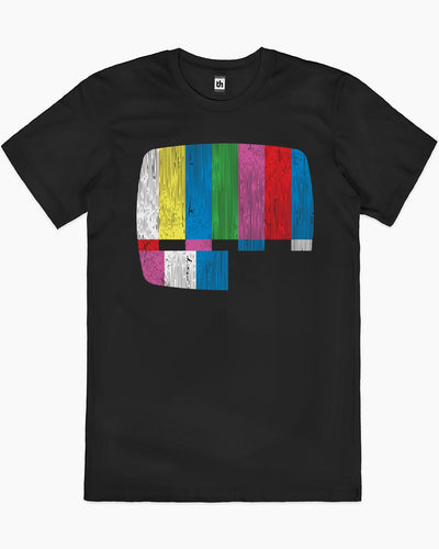 Test Pattern Alternate T-Shirt Australia Online