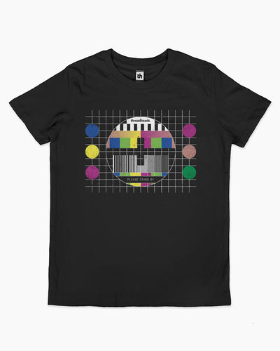 Test Pattern Kids T-Shirt Australia Online