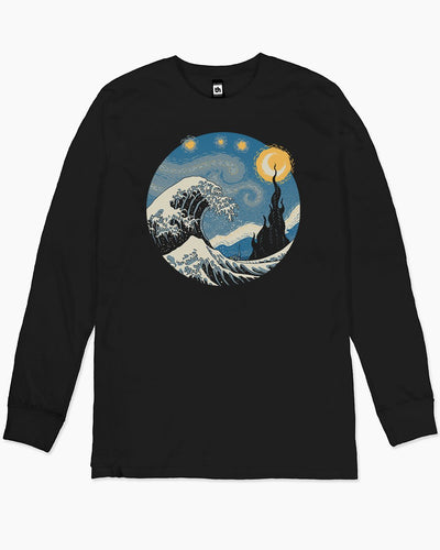 The Great Starry Wave Long Sleeve Australia Online