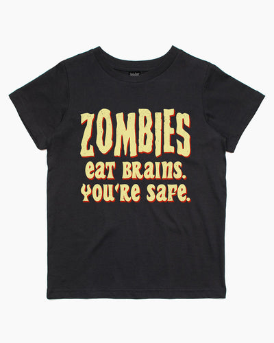 Zombies Eat Brains Kids T-Shirt Australia Online