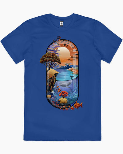 Nature is Medicine T-Shirt Australia Online