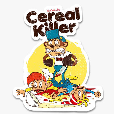 Cereal Killer Sticker Australia Online