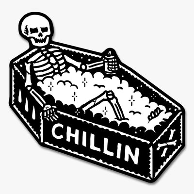 Chillin Sticker Australia Online
