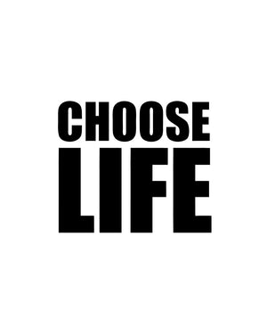Choose Life T-Shirt Australia Online
