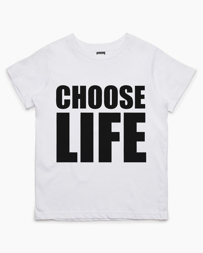 Choose Life Kids T-Shirt Australia Online