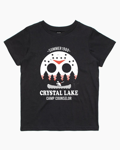 Crystal Lake Camp Counselor Kids T-Shirt Australia Online
