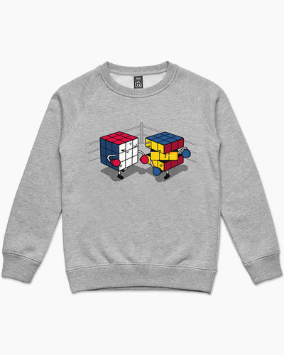 Cube Fight! Kids Sweater Australia Online