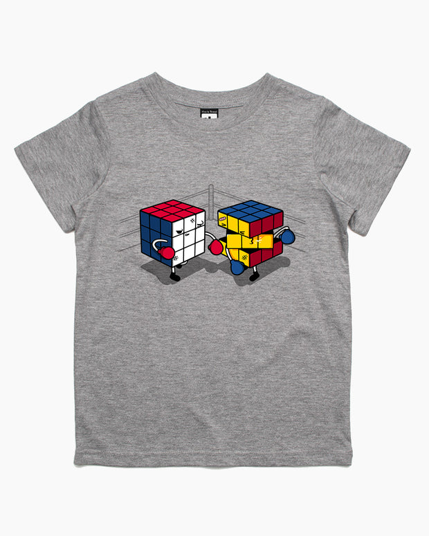 Cube Fight! Kids T-Shirt Australia Online