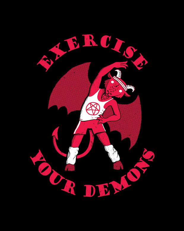 Exercise Your Demons T-Shirt Australia Online