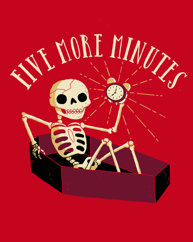 Five More Minutes T-Shirt Australia Online