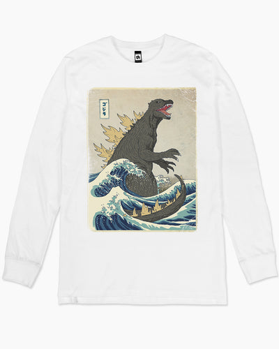 The Great Godzilla Off Kanagawa Long Sleeve Australia Online