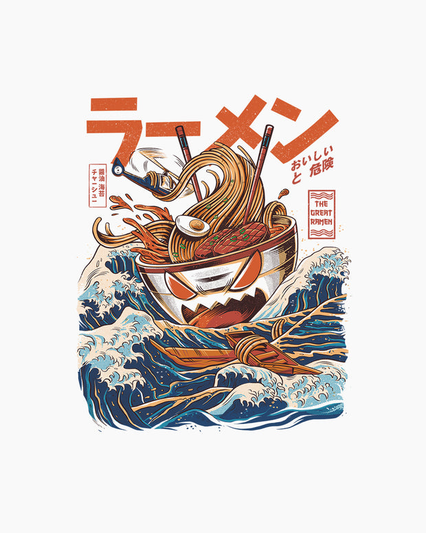 Great Ramen Off Kanagawa Long Sleeve Australia Online