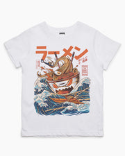 Great Ramen off Kanagawa Kids T-Shirt Australia Online