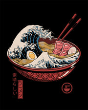 Great Ramen Wave T-Shirt Australia Online