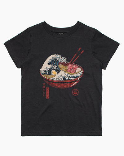 Great Ramen Wave Kids T-Shirt Australia Online