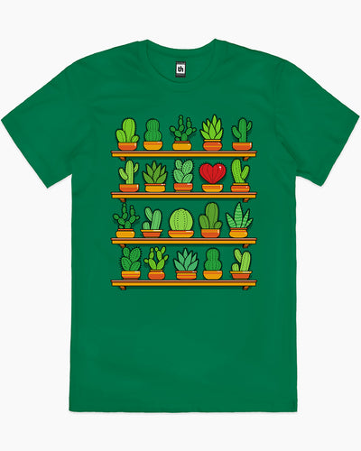 Love Yourself Cactus Heart T-Shirt Australia Online