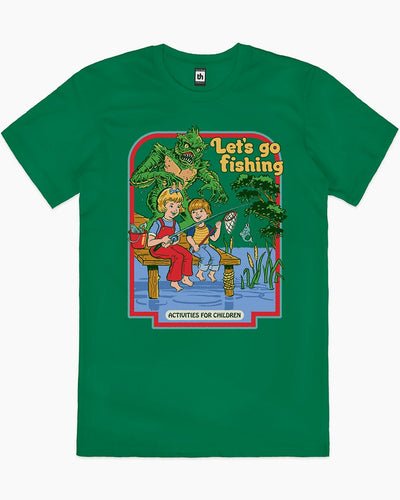 Let's Go Fishing T-Shirt Australia Online