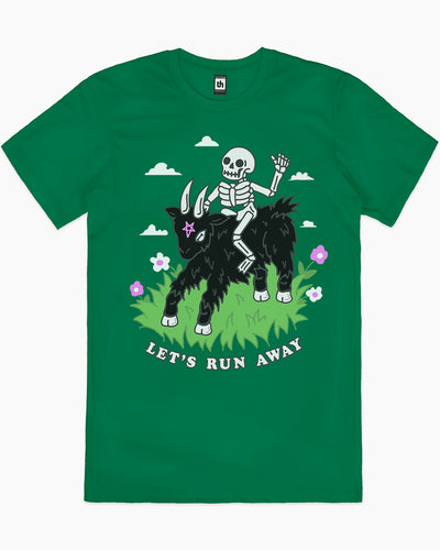 Let's Run Away T-Shirt Australia Online