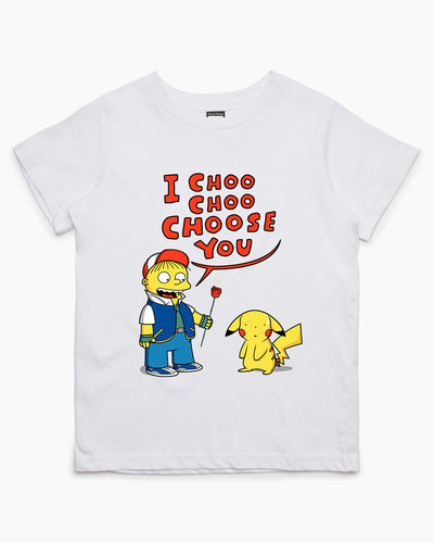 I Choo Choo Choose You! Kids T-Shirt Australia Online