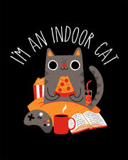 Indoor Cat Kids T-Shirt Australia Online