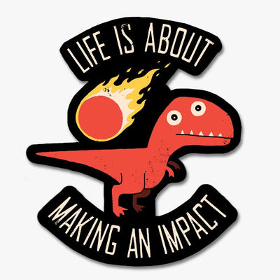 Making an Impact Sticker Australia Online
