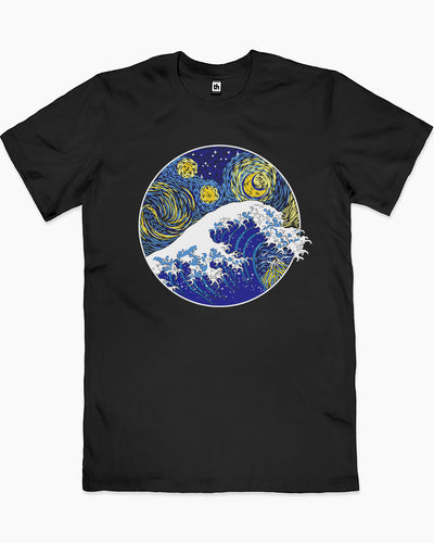 Great Starry Wave T-Shirt Australia Online