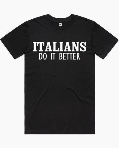 Italians Do It Better Madonna T-Shirt Australia Online
