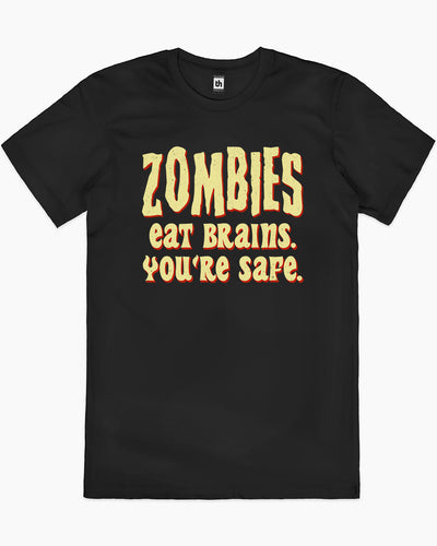 Zombies Eat Brains T-Shirt Australia Online