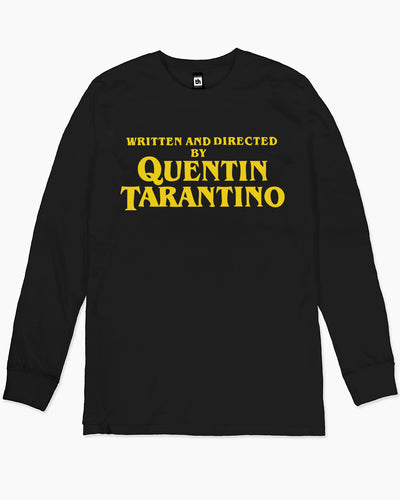 Written and Directed by Quentin Tarantino Long Sleeve Australia Online