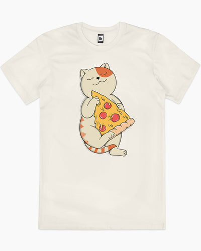 Cat and Pizza T-Shirt Australia Online