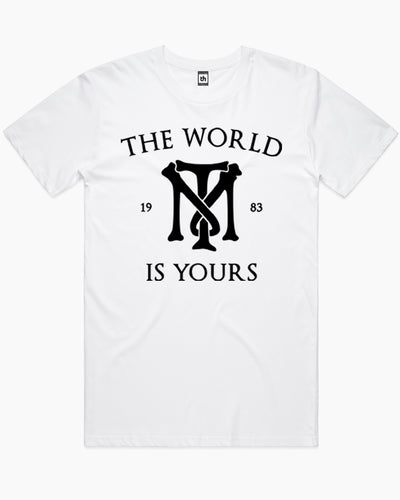 The World Is Yours Scarface T-Shirt Australia Online
