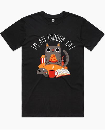 Indoor Cat T-Shirt Australia Online