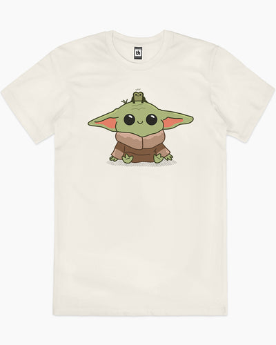 Baby Yoda and Frog T-Shirt Australia Online