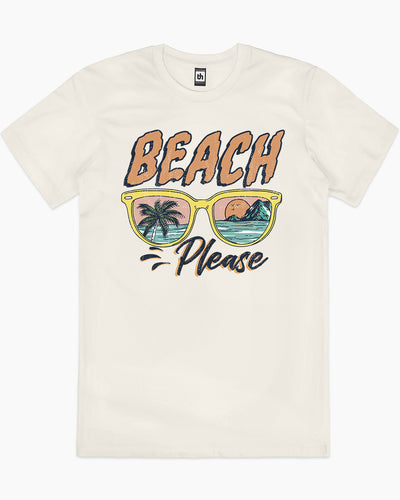 Beach Please T-Shirt Australia Online