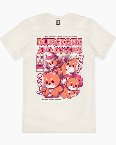 Dungeons and Doggies T-Shirt Australia Online