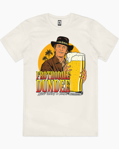 Frothodile Dundee T-Shirt Australia Online