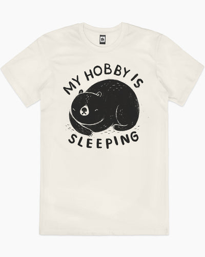 My Hobby Is Sleeping T-Shirt Australia Online