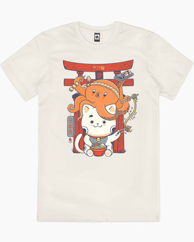 Tako and Neko T-Shirt Australia Online