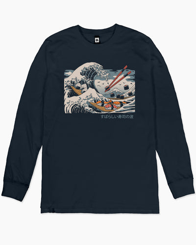 The Great Sushi Wave Long Sleeve Australia Online