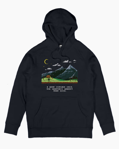 I Went Outside Once Hoodie Australia Online