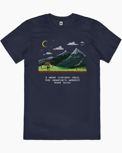 I Went Outside Once T-Shirt Australia Online