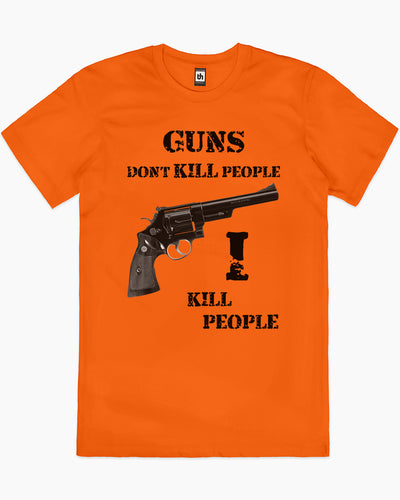Guns Don't Kill People Happy Gilmore T-Shirt Australia Online