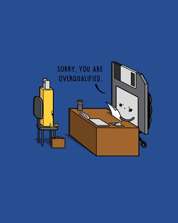 Overqualified! T-Shirt Australia Online